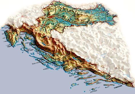 Carte Nuage Croatie.Une Viree En Croatie